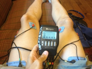 Using the Compex.