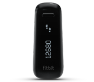 View of the FitBit.  It's a small device that I wear in my pocket.